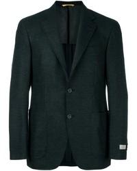 Blazer de lana verde oscuro de Canali