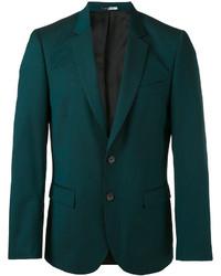 Blazer de lana verde oscuro de Paul Smith