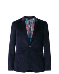 Blazer de pana azul marino de Ps By Paul Smith