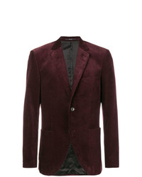 Blazer de pana burdeos de Tiger of Sweden