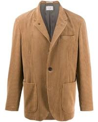 Blazer de pana marrón claro de Brunello Cucinelli