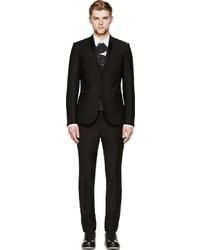Blazer de seda negro de Calvin Klein