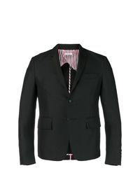 Blazer de seda negro de Thom Browne