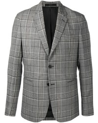 Blazer de tartán gris de Paul Smith