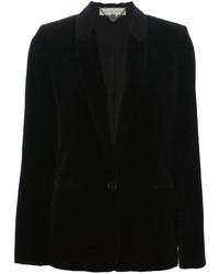 Blazer de terciopelo negro de Stella McCartney