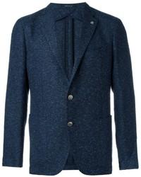 Blazer de Tweed Azul Marino de Tagliatore