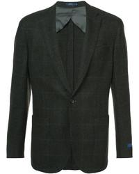 Blazer de tweed con relieve en marrón oscuro de Polo Ralph Lauren