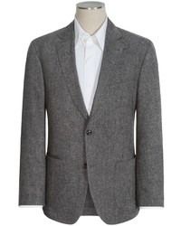 Blazer de tweed gris
