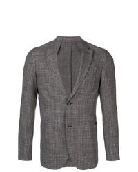 Blazer de tweed gris de Eleventy