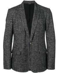 Blazer de tweed negro de Dolce & Gabbana