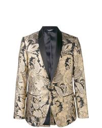 Blazer dorado de Dolce & Gabbana