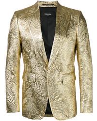 Blazer dorado de DSQUARED2