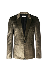Blazer dorado de Saint Laurent