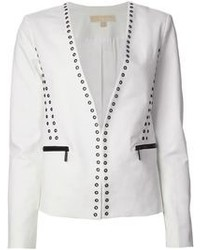 Blazer en blanco y negro de MICHAEL Michael Kors