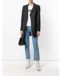 Blazer Gris Oscuro de Dolce & Gabbana Vintage