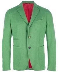 Blazer en verde menta