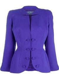 Blazer en violeta