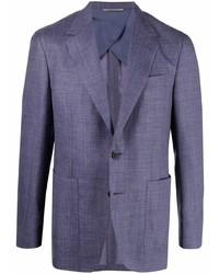 Blazer en violeta de Canali
