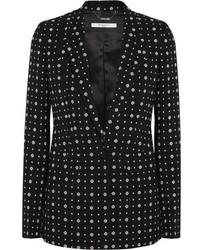 Blazer estampado negro de Givenchy