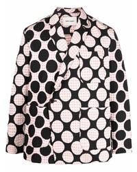 Blazer estampado rosado de Henrik Vibskov