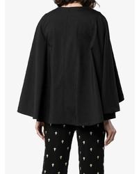 Blazer estilo capa negro de Chloé