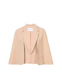Blazer estilo capa rosado