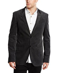Blazer Gris Oscuro de ESPRIT Collection
