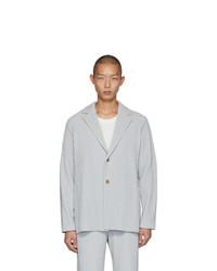 Blazer gris de Homme Plissé Issey Miyake