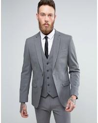 Blazer gris de New Look