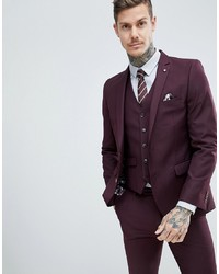 Blazer morado oscuro de Harry Brown