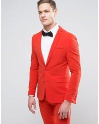 Blazer Rojo de Asos