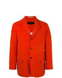 Blazer rojo de Comme Des Garçons Vintage