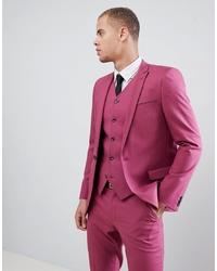 Blazer rosa de ASOS DESIGN