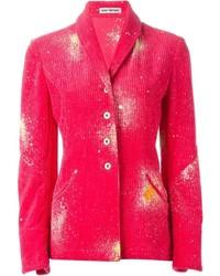 Blazer rosa de Issey Miyake