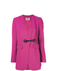 Blazer rosa de MM6 MAISON MARGIELA