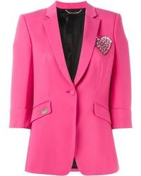 Blazer rosa de Philipp Plein