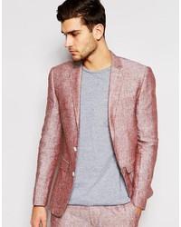 Blazer rosado de Asos