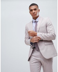 Blazer rosado de Burton Menswear