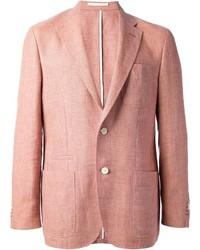 Blazer rosado de Corneliani