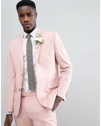 Blazer rosado de Farah Smart