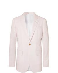 Blazer rosado de Gabriela Hearst