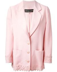 Blazer rosado de Jean Louis Scherrer