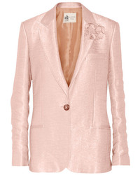 Blazer rosado de Lanvin