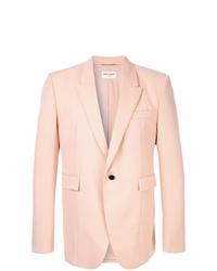 Blazer rosado de Saint Laurent