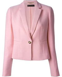 Blazer rosado de Versace