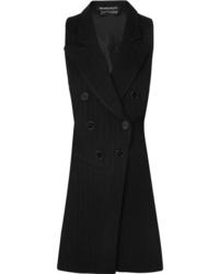 Blazer sin mangas negro de Ann Demeulemeester