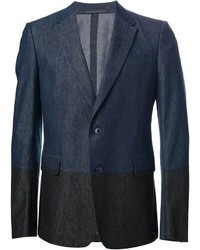 Blazer vaquero azul marino de Valentino