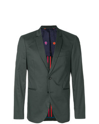 Blazer verde oscuro de Ps By Paul Smith
