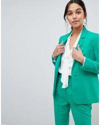 Blazer verde de Asos