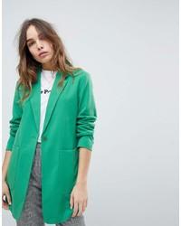 Blazer verde de Only
